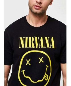 Camiseta Nirvana OnlyAndSons Negra