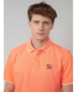 Polo Petrol Industries Neon Fiery Coral